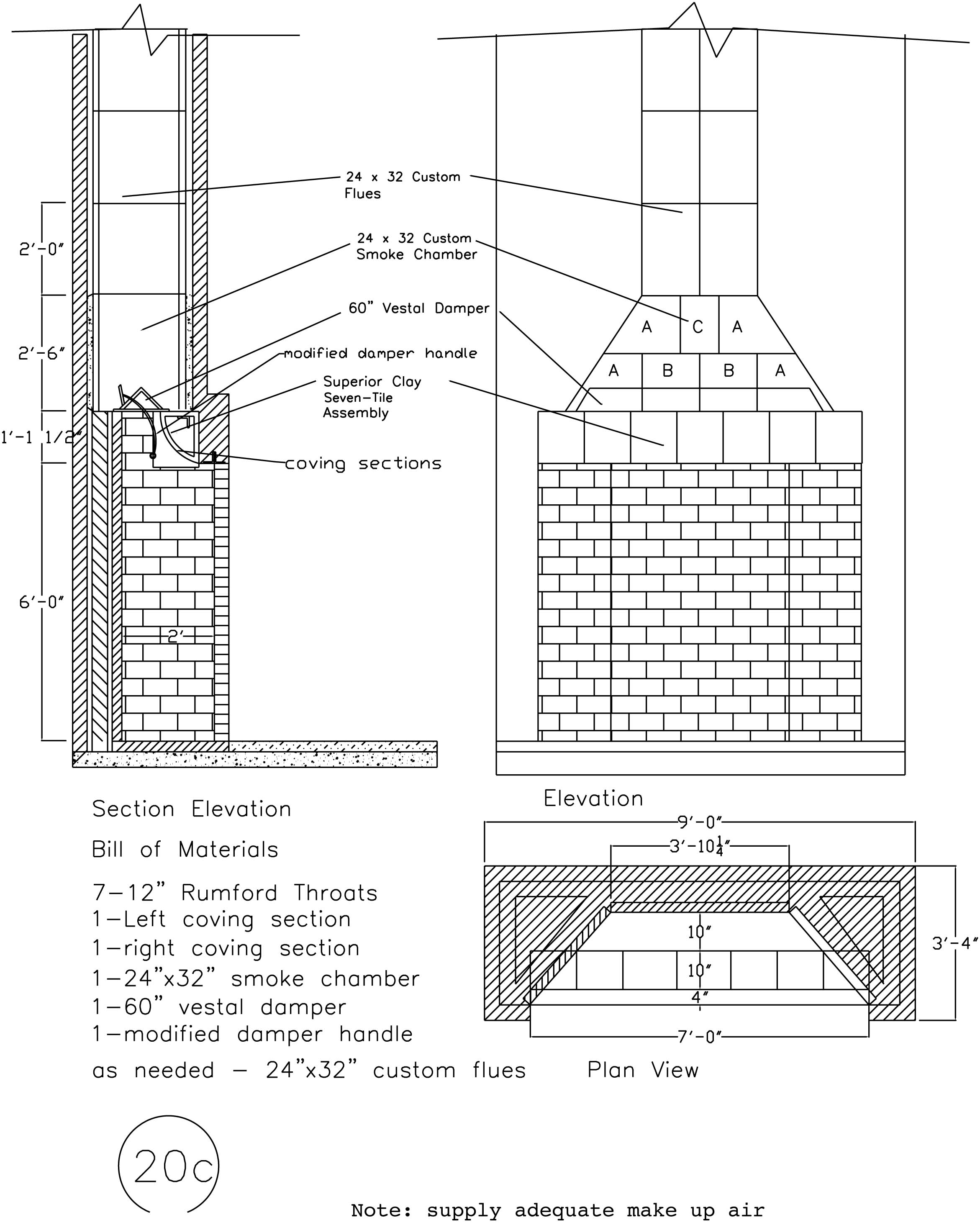 rumford fireplace plans u0026 instructions