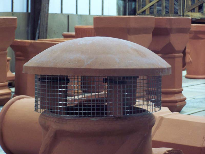 Buckley Rumford Fireplaces Rain Guard with Spark Arrestor - Rain Guard With Spark Arrestor