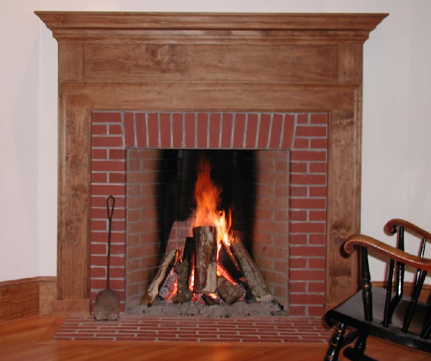 Beaumont for Rumford fireplace kits