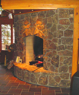 Galleries hearth and fireplaces on pinterest for Rumford fireplace insert
