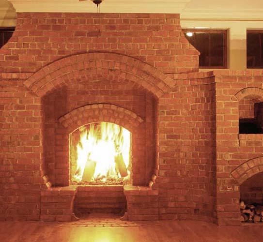 Gas Brick Pizza Oven Inglenook Fireplaces