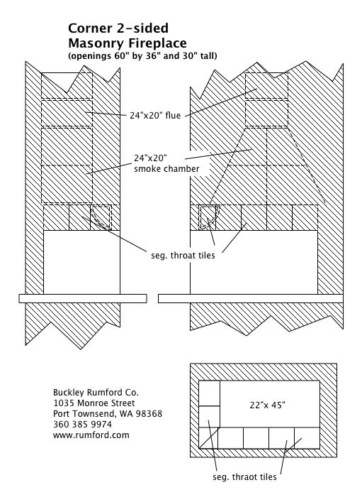 Multi-Sided Fireplace Plans & Instructions