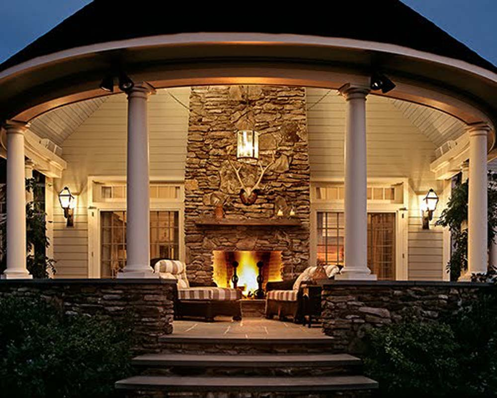 outdoor fireplaces home decorating interior design bath