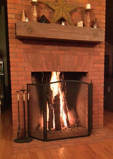 Kenora masonry services for Rumford fireplace insert