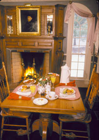 Nestlenook farm rumford for Count rumford fireplace