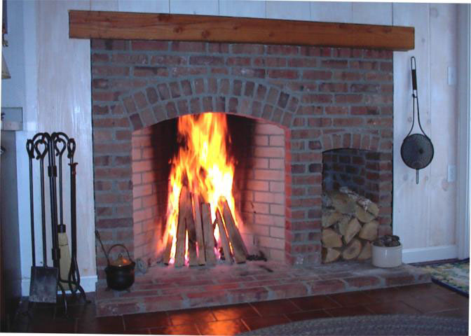 Brick rumfords for Rumford fireplaces