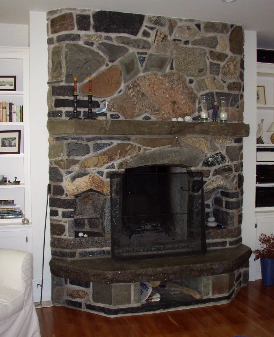 Stone Built Fireplaces masons