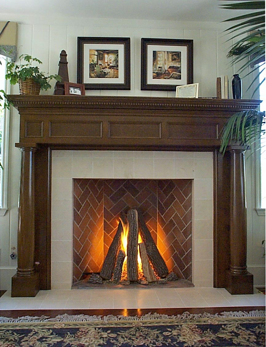 Rumford Fireplace Gas Logs