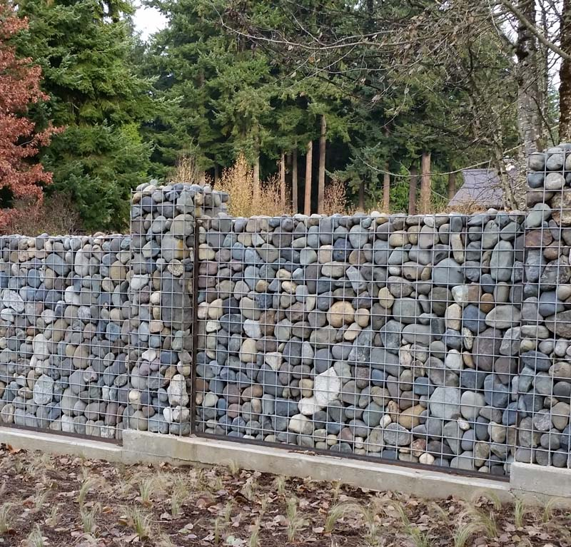 Then There Are Some Interesting Ways To Build Stone Walls Or Enclosures Economically
