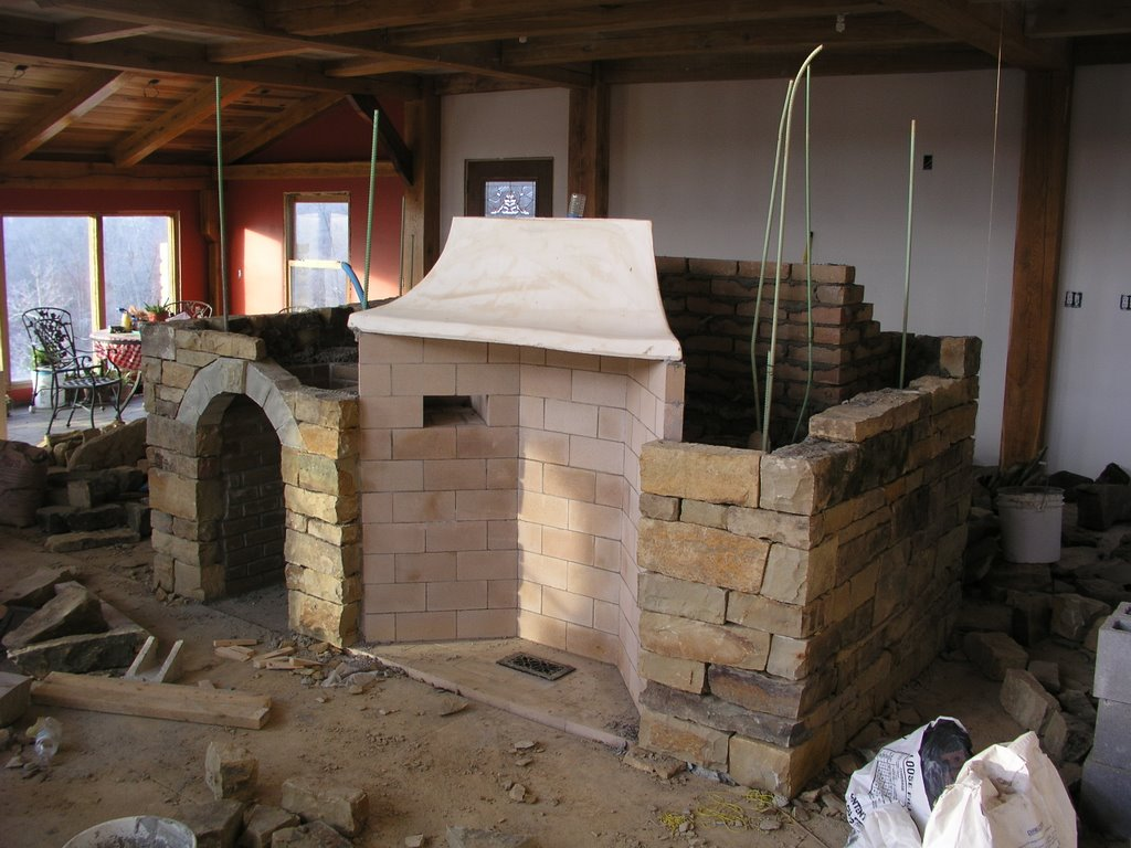 Massie oven for Rumford fireplaces