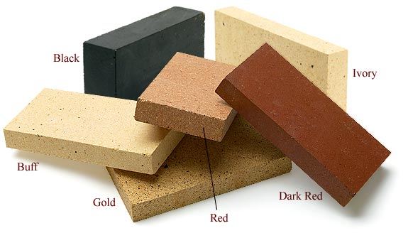 Red Soapstone Blocks : Firebrick